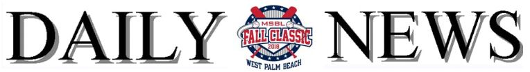 fall classic daily news banner 2018
