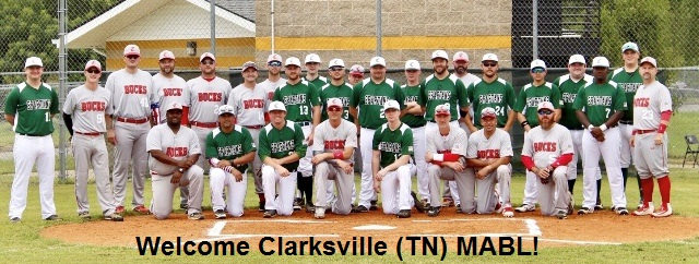 Welcome Clarksville Tn Mabl Men S Senior Baseball League