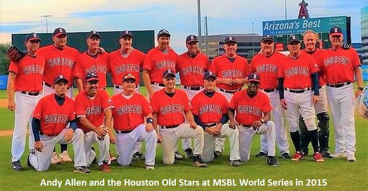 adult baseball league in houston